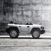 Детский электромобиль Henes Broon T870 белый (полноприводный внедорожник)
